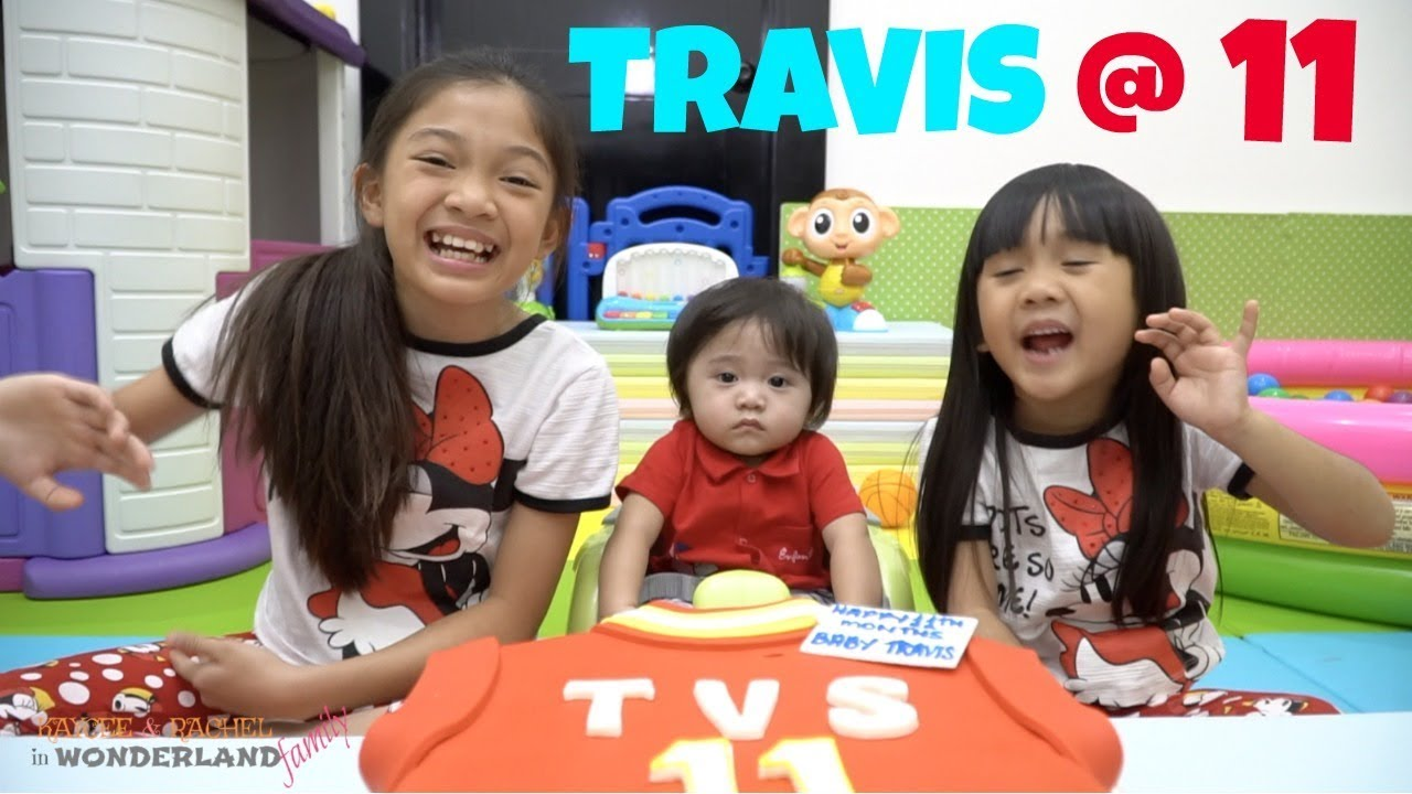 TRAVIS'S 11th MONTHSARY with Kaycee & Rachel - YouTube