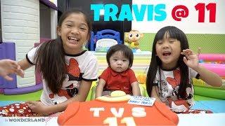 TRAVIS'S 11th MONTHSARY with Kaycee & Rachel