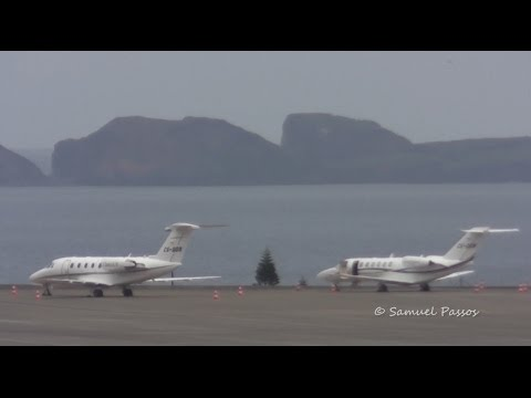 Cessna Citation Gorgeous Private Jet || Madeira