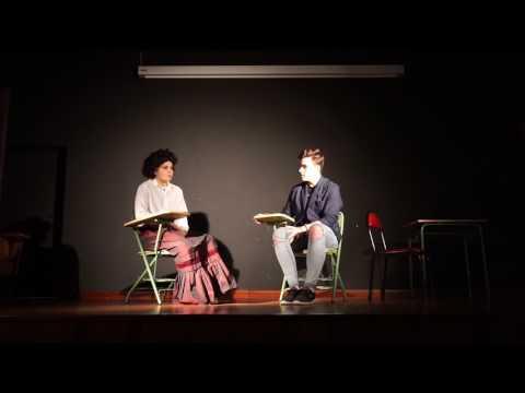 Donas do noso   Entrevista a Rosalía de Castro Amanda e Manuel