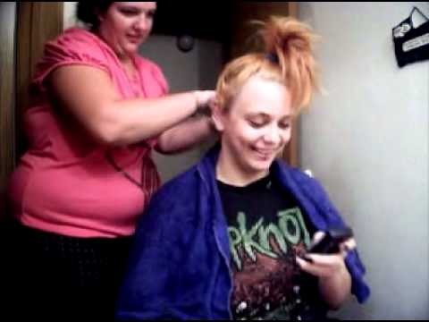Dying Hair Red with Directions Pillarbox Red
