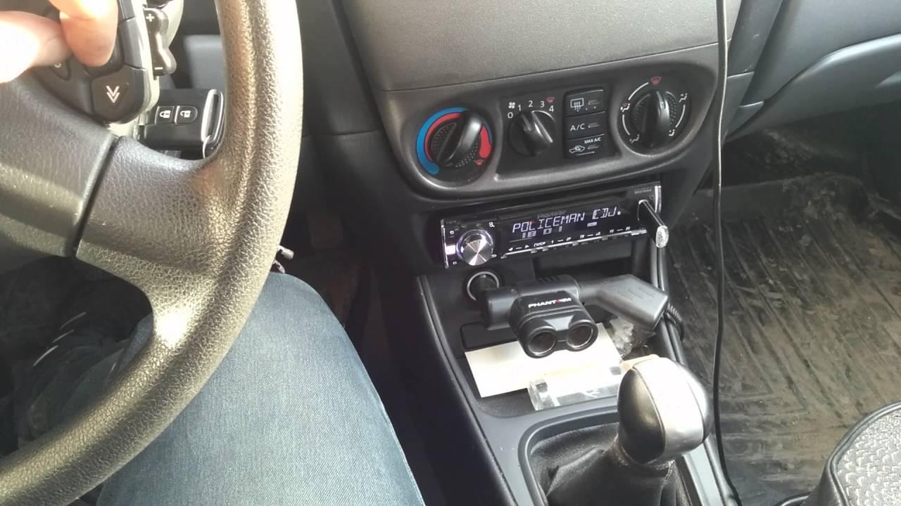 Nissan Almera N16 рулевой джойстик + Pioneer DEH-X5600BT