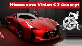 Nissan 2020 Vision Gran Turismo Concept, live at 2015 TOKYO MOTOR SHOW