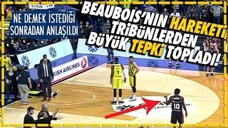 Fenerbahçeli taraftarlardan Baskonia'lı Beaubois'ya büyük tepki!