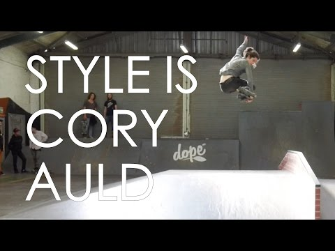 STYLE IS - CORY AULD // INLINE SKATING IN THE SHRED SKATEPARK IN SOUTH AFRICA