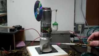 Soda Can Stirling Engine - Pop Can Stirling engine - Coke Can Stirling engine