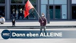 ERSTER MAI: Keine Randale und Demonstrationen sondern Spaziergänge