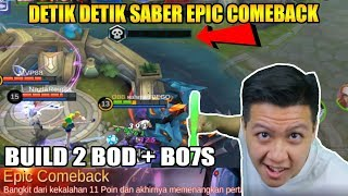 EPIC COMEBACK SABER 1 COMBO MATI MARKSMAN - Mobile Legend Bang Bang