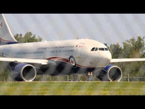 "Government of Canada Jet Takeoff From Ottawa Airport ""YOW"" 8/19/13 Columbia Photos"