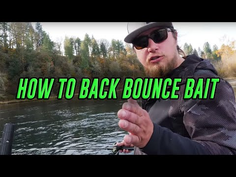 How To Backbounce Bait For Salmon & Steelhead (River Fishing TIPS!)