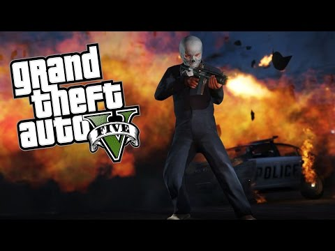 Explosive Explosions!!! (GTA V Funny Moments)