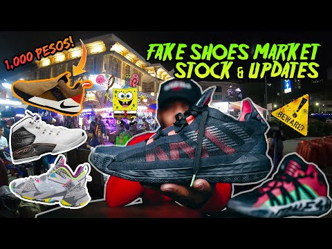 Solid but BUY ORIGINAL Shoes! Fake Shoes Market Updates | BEWARE