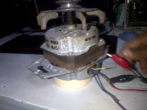 Cara menyambung  kellistrikan dinamo mesin cuci