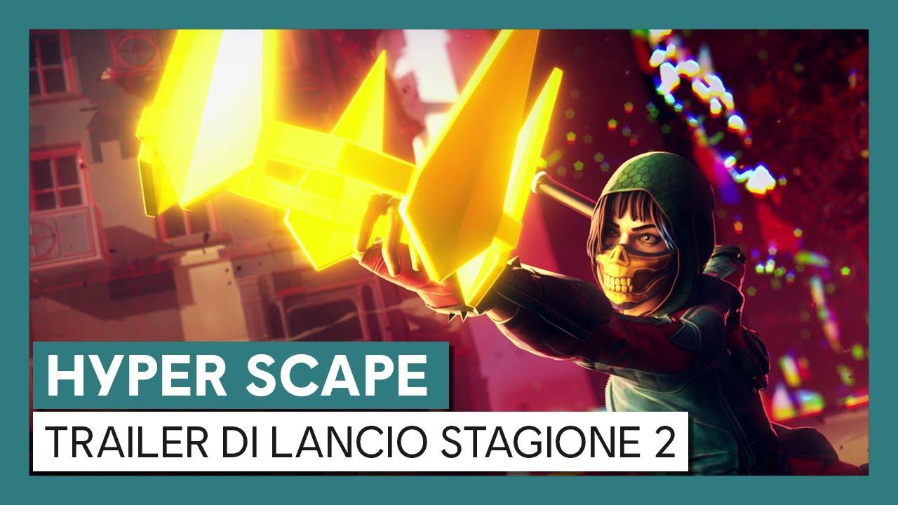 Hyper Scape: Trailer di Lancio Stagione 2