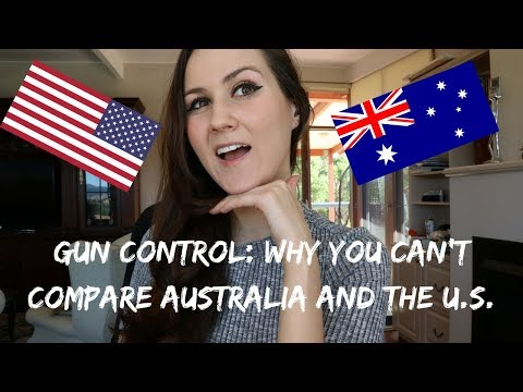 GUN CONTROL: WHY YOU CAN'T COMPARE AUSTRALIA AND THE U.S
