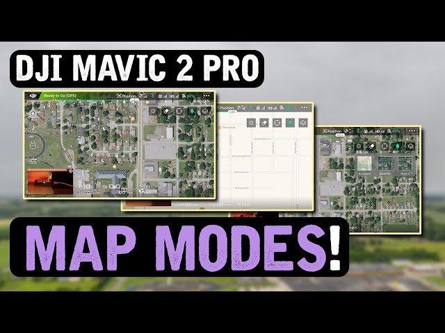 DJI Mavic 2 Pro / MAP MODES (Tutorial)