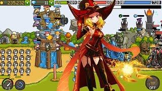 Stick Man Người Que SỨC MẠNH CỦA PHÁP SƯ LỬA| Grow Castle | Top Game Mobile Hay Android, Ios