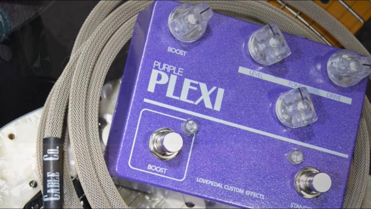 Lovepedal Purple Plexi Plus Boost Demo With Sean Gibson Of