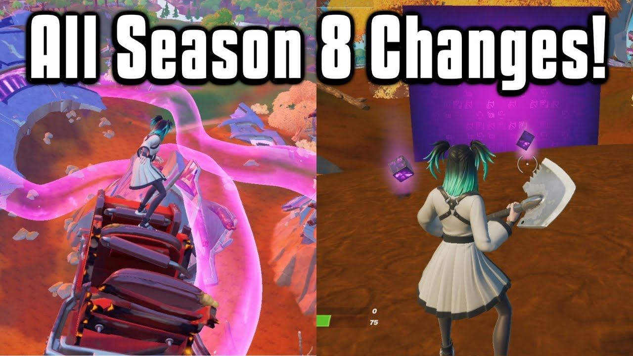 Download Everything New In Fortnite Chapter 2 Season 8! - Battle Pass, Map, Weapons & More!