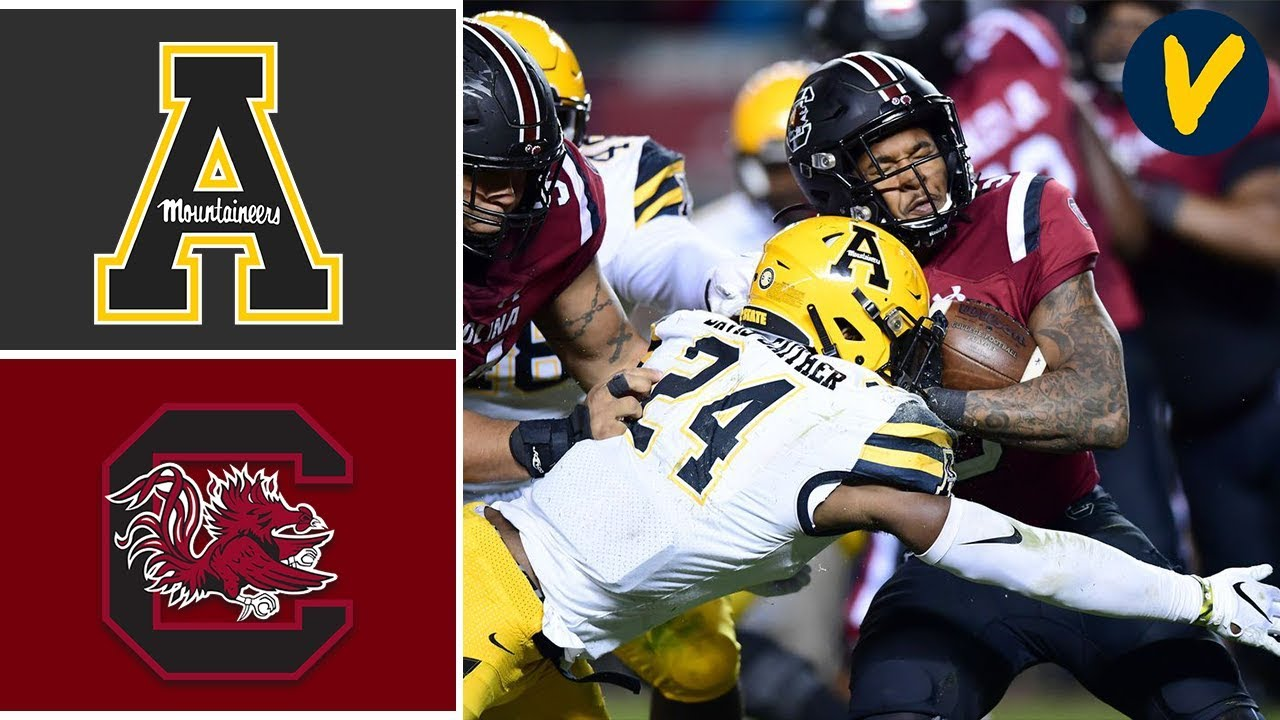 App State Vs South Carolina Highlights Week 11 College Football 2019