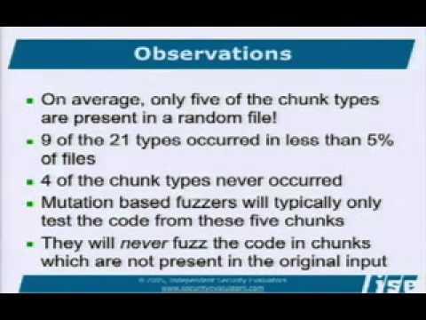 DEF CON 15 - Charlie Miller - How Smart is Intelligent Fuzzing