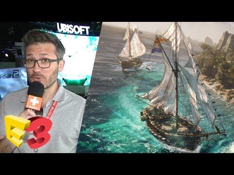 E3 2017 : On a coulé des navires dans Skull and Bones, nos impressions