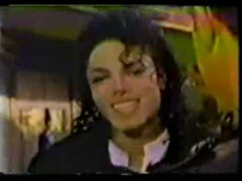 Michael Jackson Rare Fan Video - I Just Can't Stop Loving You