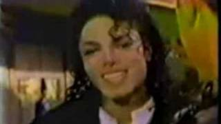 Michael Jackson Rare Fan Video - I Just Can