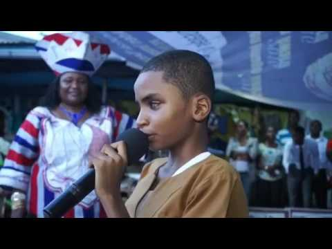 Liberian Blind Boy Sings Flavour Mama