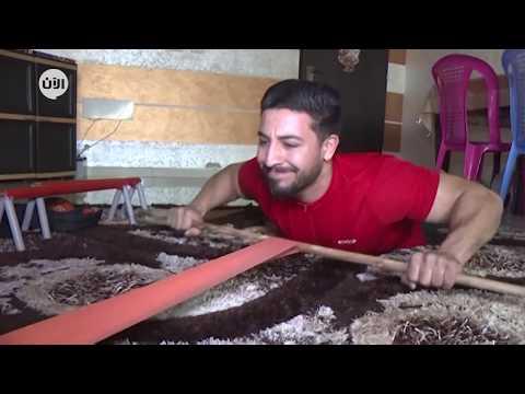 مدرب لياقة في غزة يستخدم أثاث منزله للتدرب خلال الحجر الصحي  - نشر قبل 4 ساعة