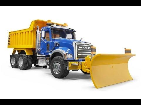 Camion Juguete Bruder Mack Granite Dump, Camiones Juguetes Infantiles