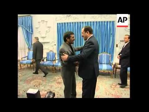 Iraqi PM Nouri al-Maliki meets Iranian 1st VP Parviz Davoudi for talks