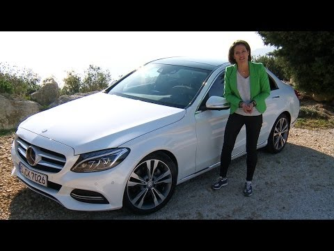 Mercedes-Benz C-Class 2014: Test Drive in Marseille