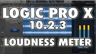 Logic Pro X (10.2.3) - Loudness Meter, Understanding LUFS