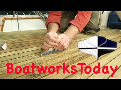 #HowTo Refinish A Teak Deck For Your #Boat