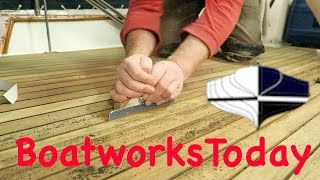 HowTo Refinish A Teak Deck For Your Boat