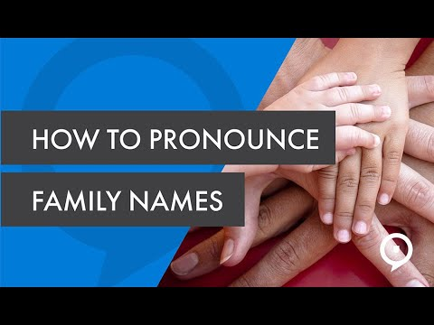 How to pronounce Portuguese family names + naming convention