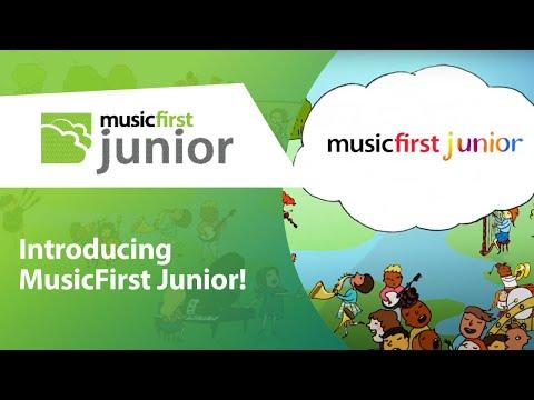 Introducing MusicFirst Junior!