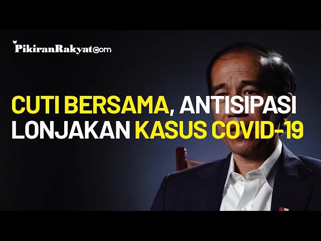 Soal Cuti Bersama Akhir Oktober 2020, Jokowi Minta Antisipasi Lonjakan Kasus Covid-19