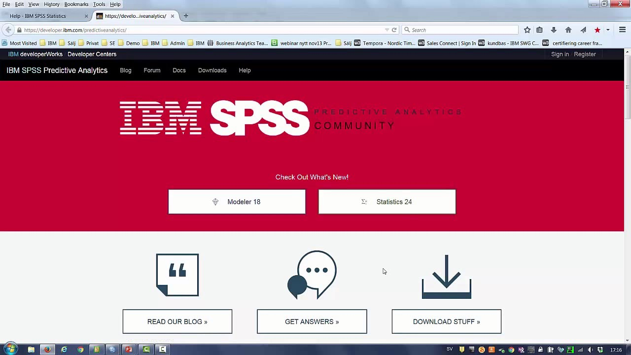 Technology Management Image: Demo Av Nyheterna I IBM SPSS Statistics 24