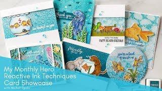 Hero Arts My Monthly Hero | March 2019 Card Showcase
