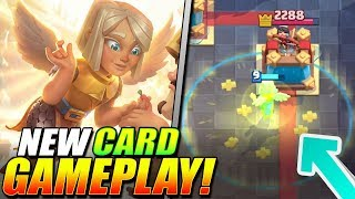 *NEW CARD!* BATTLE HEALER IS INSANE!! Gameplay + Card Level Boost!!