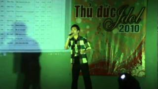 THANH THỤY, GIẢI 1THU DUC IDOL 2010\I just call to say I love you.MPG