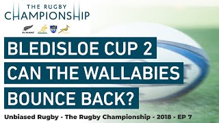 Rugby Championship 2018: Bledisloe Cup 2 Can the Wallabies Bounce Back?