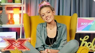 Becca serves up some fresh X Factor exclusives | Just Eat's Xtra Bites | Episode 6