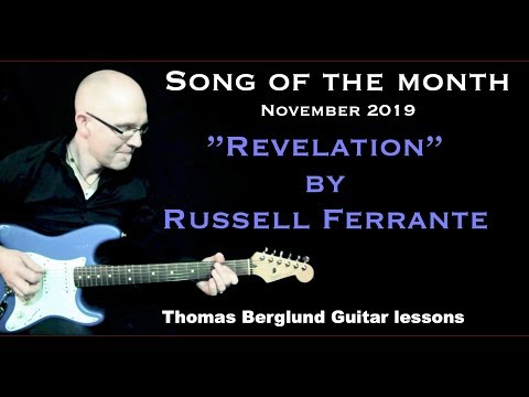 Revelation by Russell Ferrante - Song of the Month - Fusion guitar