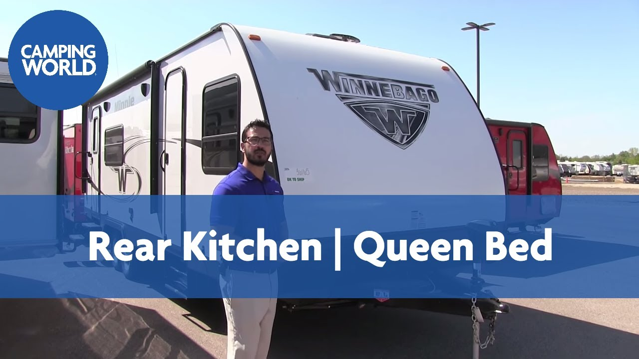 2018 Winnebago Minnie 2401RG | Travel Trailer | White | Stone - RV Review