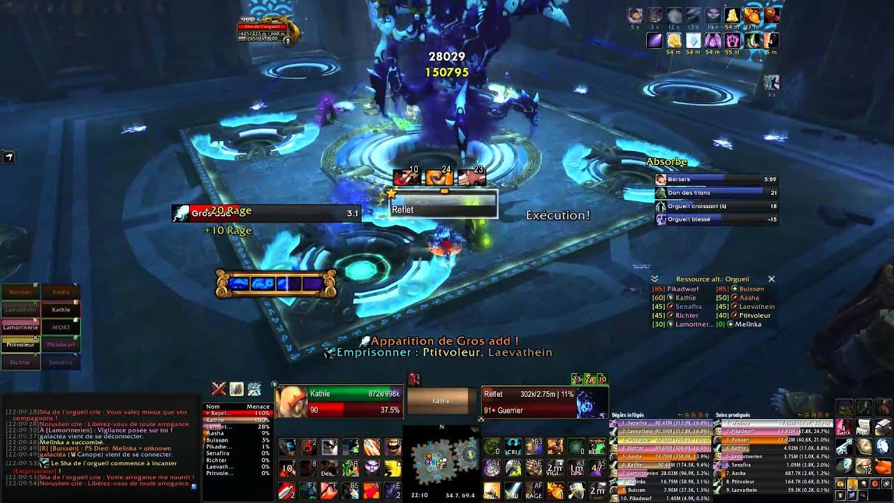 Siège Dorgrimmar Sha De Lorgeuil Hm Boss World Of Warcraft