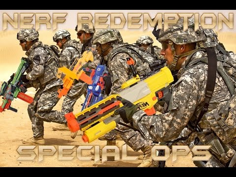 Thumbnail: Nerf Gun War Redemption: Special Ops | HD Nerf Kids Battle