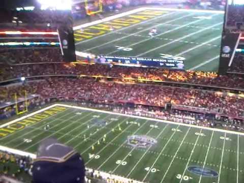 Michigan vs Alabama at Cowboys Stadium
